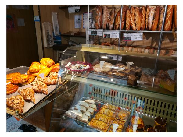 Viennoiseries, croissants, pains au lait à la boulangerie de Montastruc
