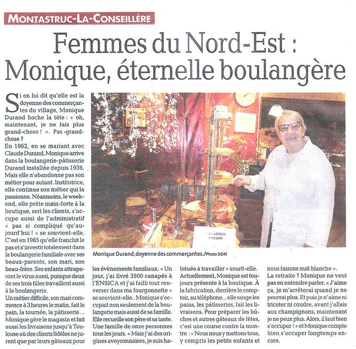 La Dépêche du Midi et la Maison Durand à Montastruc