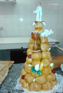 Le pâtissier à Montastruc la Conseillère crée votre pièce montée pour votre mariage