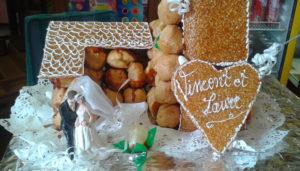 Nos confectionnons les gâteaux de mariage et anniversaire à Montastruc